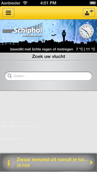 Schiphol Amsterdam Airport App